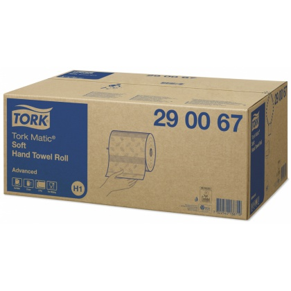Tork Matic® Soft rullakäsipyyhe H1 Advanced, 6 rll/ltk 290067