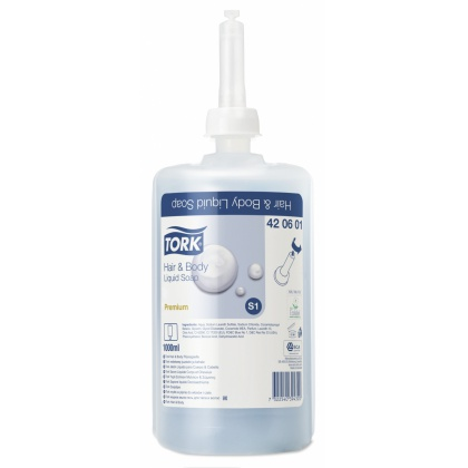 Tork Hair & Body nestesaippua S1, 6x1l 420601