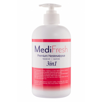 Medisoft nestesaippua 3in1, 500ml