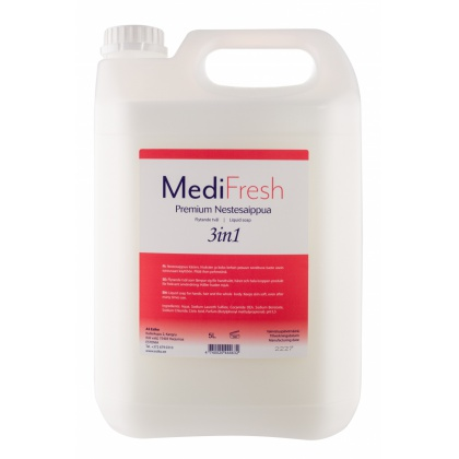 MediFresh Premium nestesaippua 3in1, 5l 85602